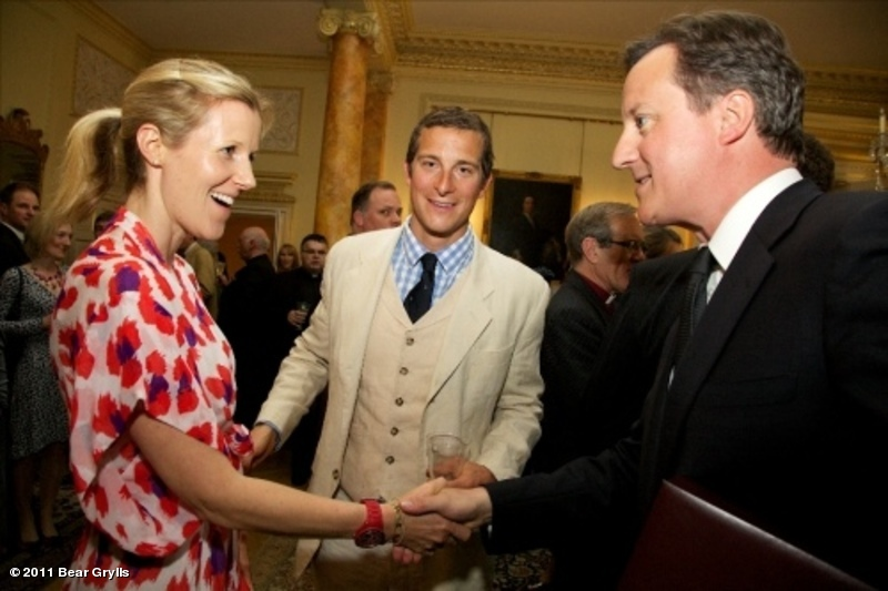 Bear et David Cameron | BearGrylls.fr
