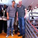 Bear Grylls et Andre Agassi Bear Grylls