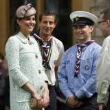 Bear et Kate Middleton Bear Grylls