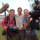 Derriere la camera Bear Grylls