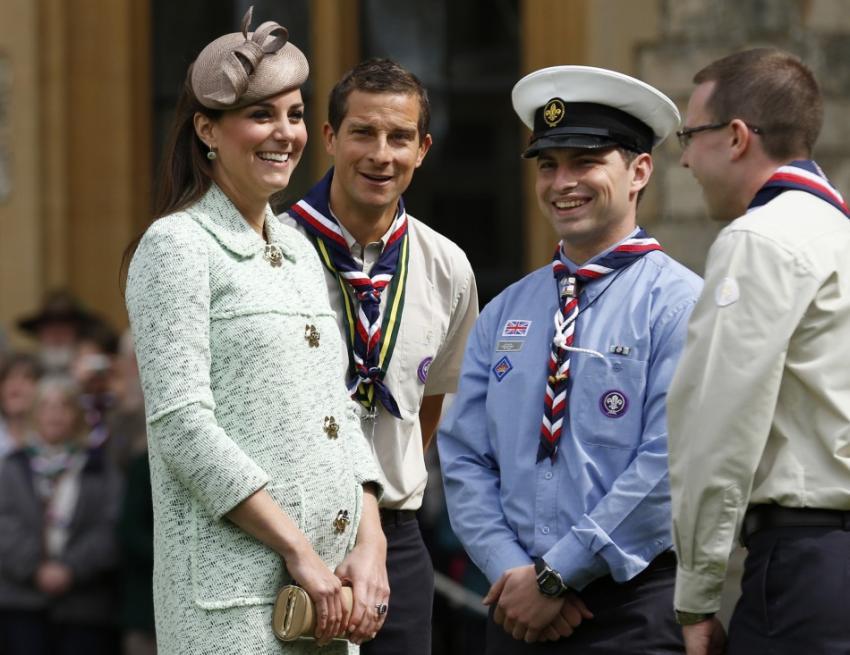 Bear et Kate Middleton | BearGrylls.fr