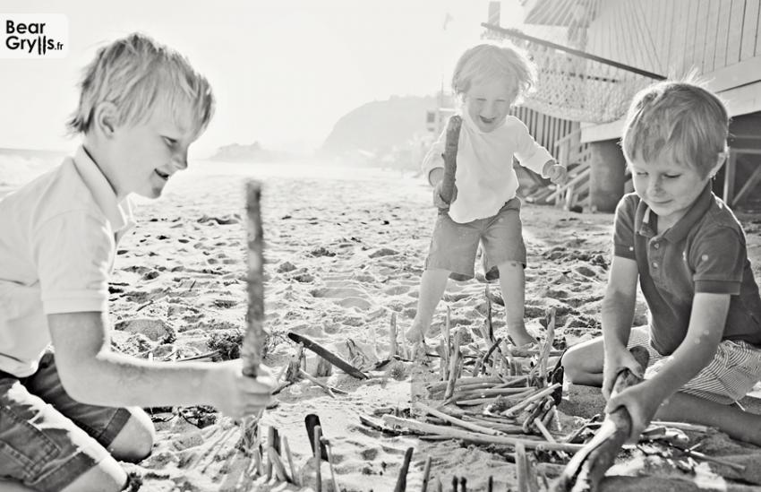 Enfants de Bear Grylls | BearGrylls.fr