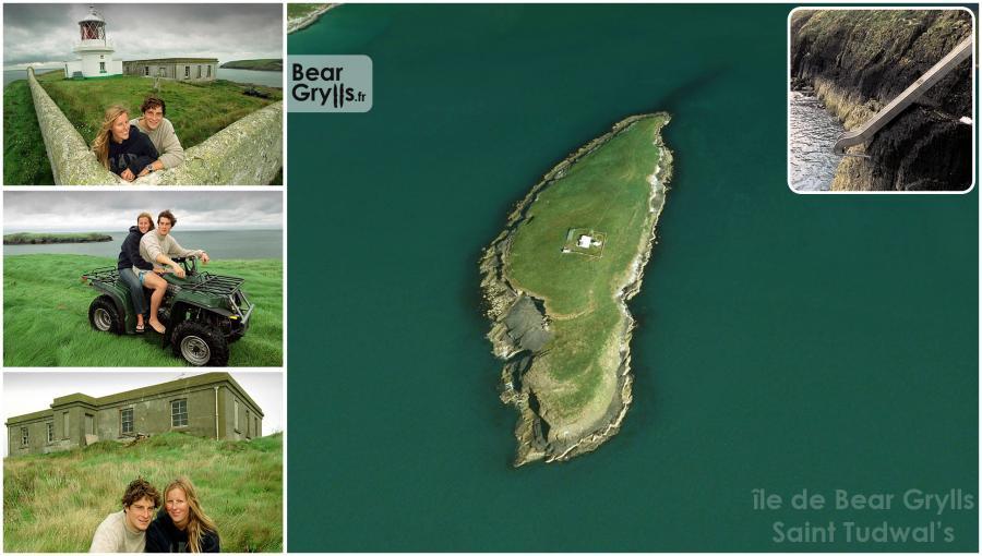 ile Saint Tudwal's , island St Tudwal's Bear Grylls toboggan