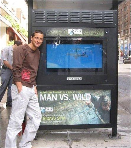 Pub Man vs wild | BearGrylls.fr