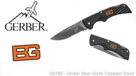Couteau Compact Scout Gerber Bear Grylls