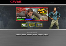 Jeux video man vs wild sur cravegames.com