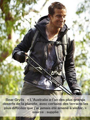 Bear Grylls chef scout uk