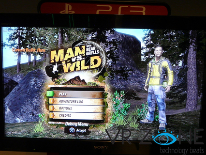 jeux video man vs wild
