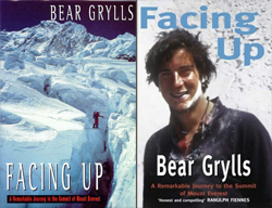 Livre Bear Grylls Facing up book