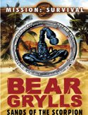 Livre Bear Grylls Mission Survival: Sand of the Scorpion book