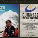 Grylls conqui l'Everest World record