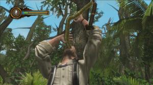 Man vs wild jeux video boir son urine