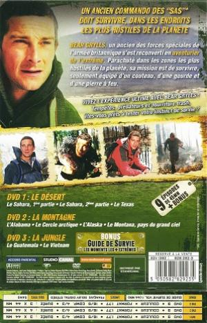 Man vs wild saison 1 fr