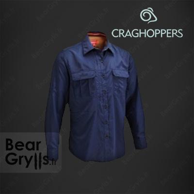 Chemise Craghoppers Adventure bleu  de Bear Grylls