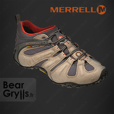 Chaussure Merrell Chameleon II Stretch Light de Bear Grylls