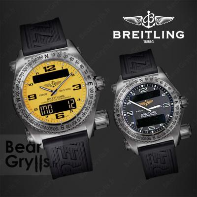 Montre Breitling Emergency de Bear Grylls