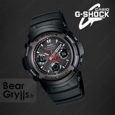Montre Casio G-shock awg-101 de Bear Grylls