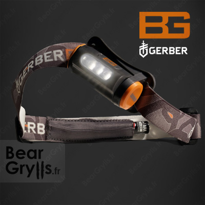 Accessoire GERBER BG Lampe Frontale de Bear Grylls