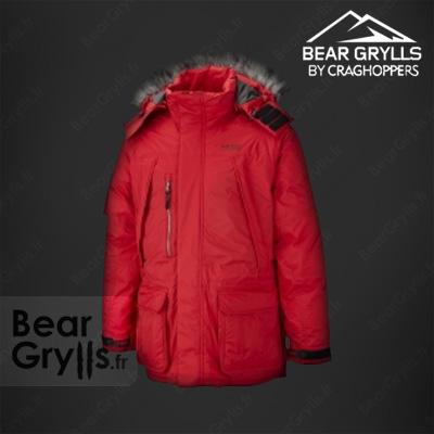 Manteau craghoppers polaire jackets  de Bear Grylls