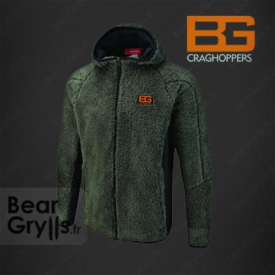 Sweats et pull Bear Grylls Polard Hooded Fleece de Bear Grylls