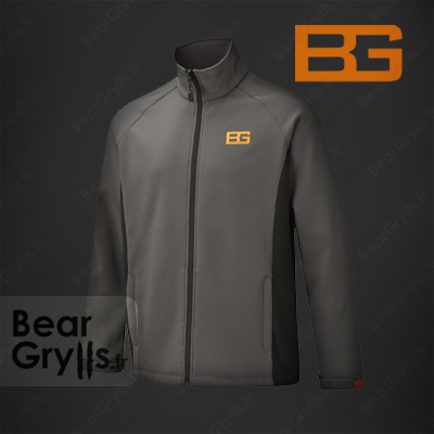 Sweats et pull Bear Grylls Softshell Jacket de Bear Grylls