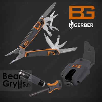 Accessoire GERBER BG Survival Tool Pack de Bear Grylls