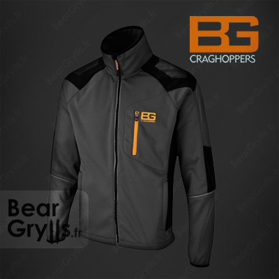 Sweats et pull Bear Grylls Survivor Softshell de Bear Grylls