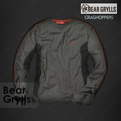 Sweats et pull craghoppers Sweat manche long de Bear Grylls