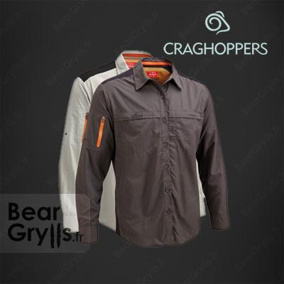 Chemise Craghoppers Trek manche longue de Bear Grylls