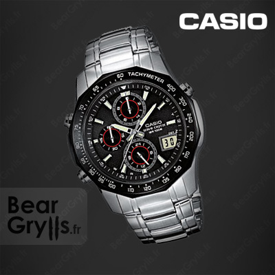 Montre Casio waveceptor 620 de Bear Grylls