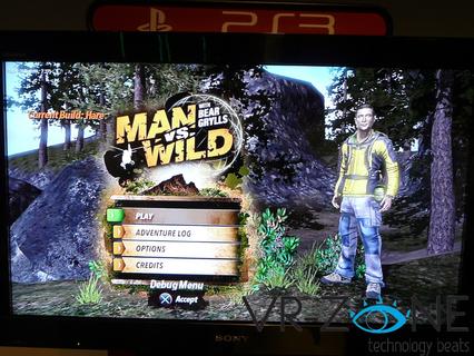 Man vs wild le jeu game